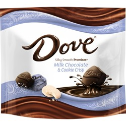 Dove Milk Chocolate & Cookie Crisp Chocolate Candies Pouch - 7.6oz
