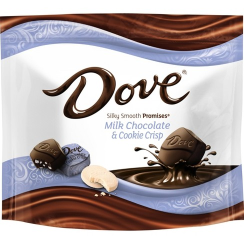Dove Milk Chocolate & Cookie Crisp Chocolate Candies Pouch - 7.6oz - image 1 of 6