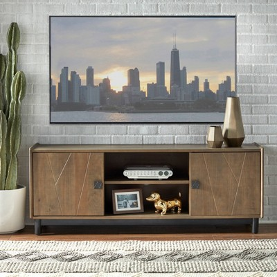 Dulce Entertainment Center Gray - Buylateral