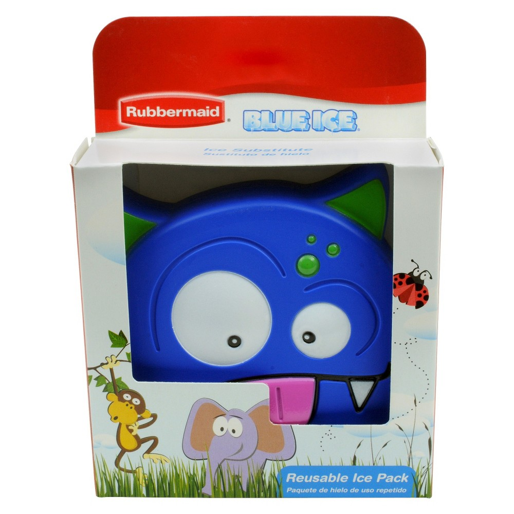 Rubbermaid BlueIce Fun Shapes Monster Lunch Box