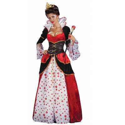 Ladies Charmed Red Queen Costume