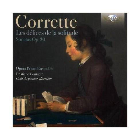 Opera Prima Ensemble - Corrette: Les Delices De La Solitude, Op. 20 (CD) - image 1 of 1