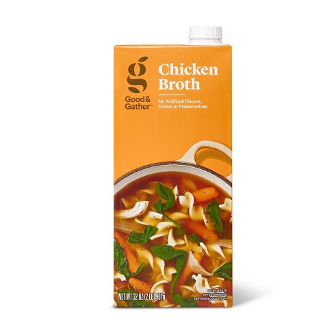 Chicken Broth - 32oz - Good & Gather™ - image 1 of 3
