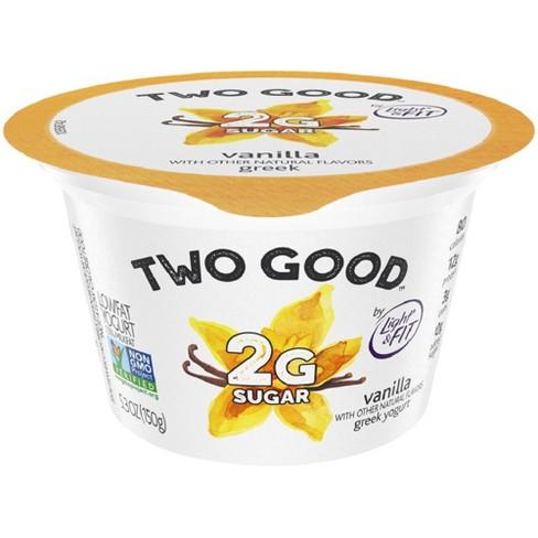 Two Good Vanilla Greek Style Yogurt - 5.3oz - image 1 of 2