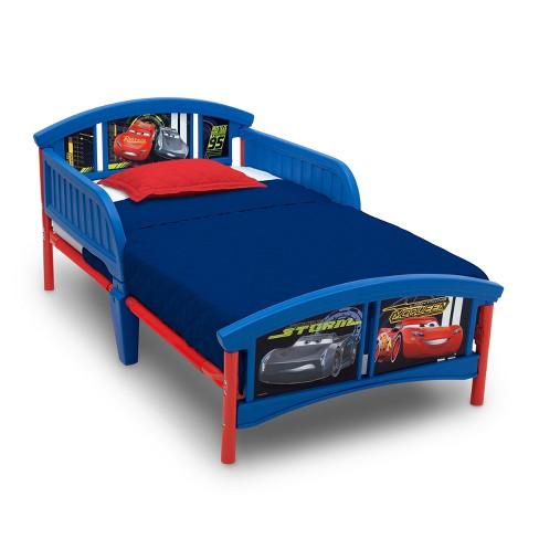Disney Pixar Cars Plastic Toddler Bed Target