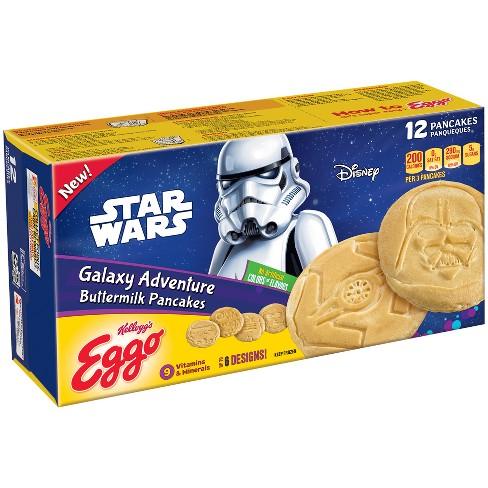 Eggo Star Wars Galaxy Adventure Buttermilk Frozen Pancakes - 10.7oz - image 1 of 1