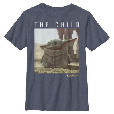 Boy's Star Wars The Mandalorian The Child Frame T-Shirt