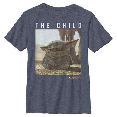 Boy's Star Wars The Mandalorian The Child Frame T-Shirt - image 1 of 2