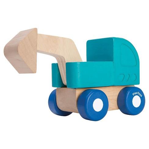 PlanToys Mini Excavator - image 1 of 1