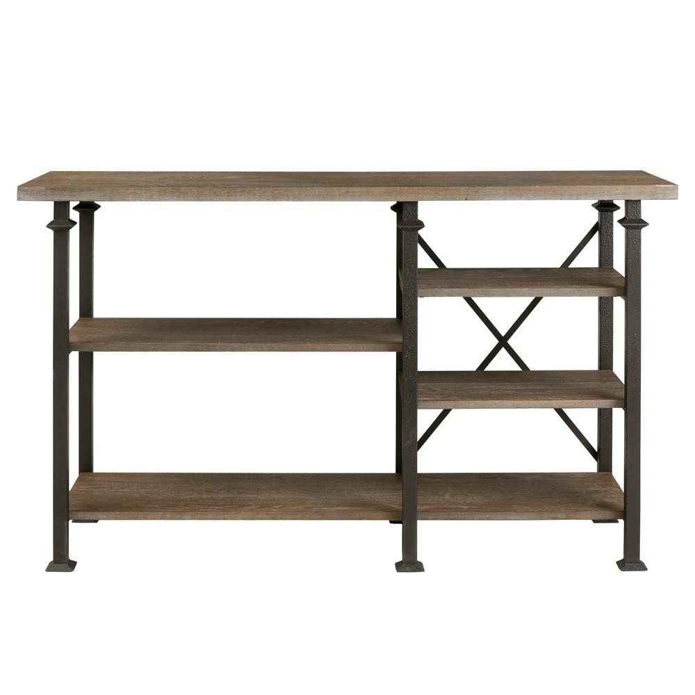 Wells Sideboard Gray, Sideboard Buffet Servers