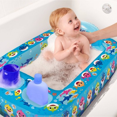 Pinkfong Baby Shark Inflatable Safety Bathtub