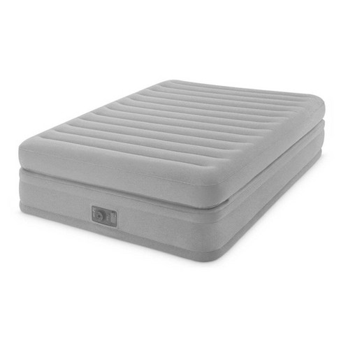 Intex Inflatable Prime Comfort Elevated Airbed Mattress w/ Built In Pump, Queen - image 1 of 4