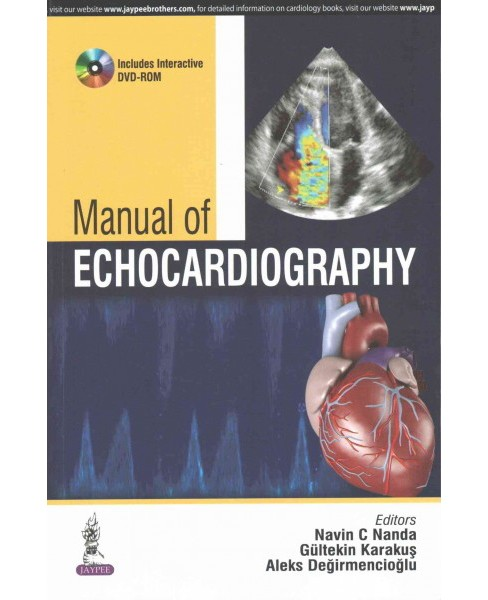 Manual of Echocardiography (Paperback) - image 1 of 1