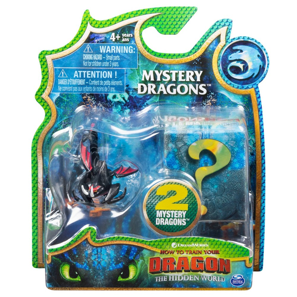 DreamWorks How to Train your Dragon Hookfang Mystery Dragon 2pk Collectible Animal Figures