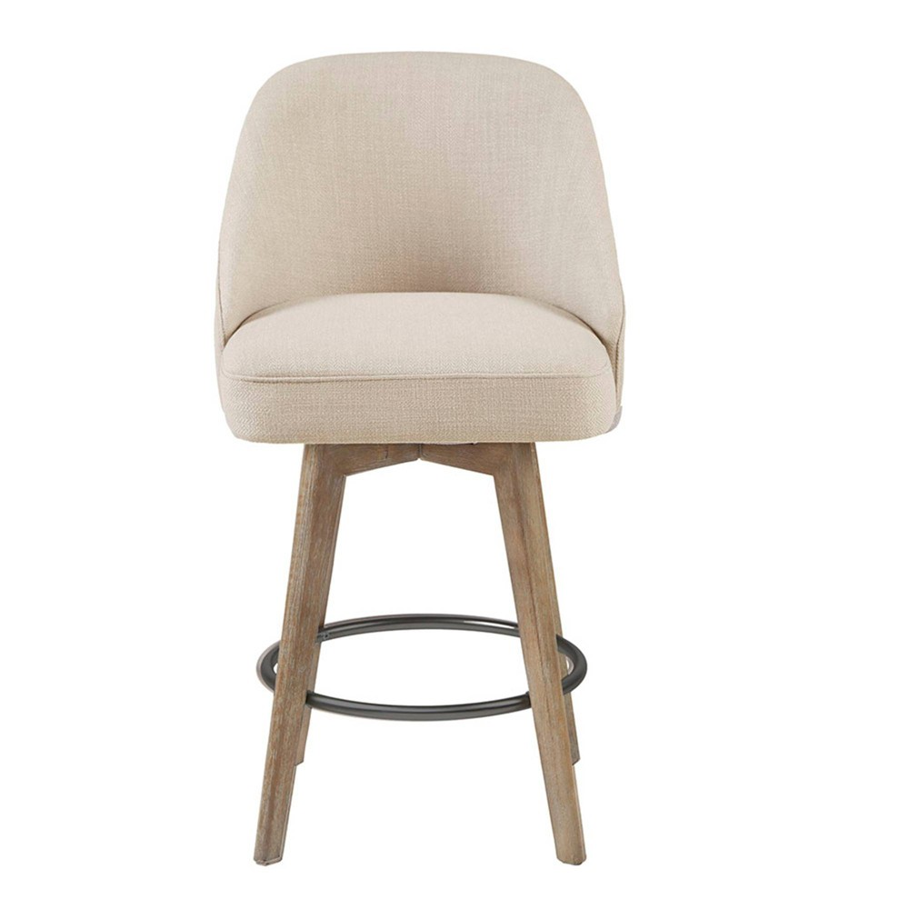 Howard Counter Height Barstool With Swivel Seat Sand