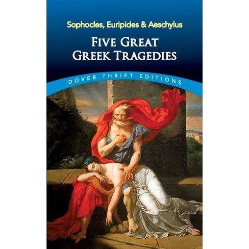 Five Great Greek Tragedies - (Dover Thrift Editions) by  Euripides & Aeschylus (Paperback) - image 1 of 1