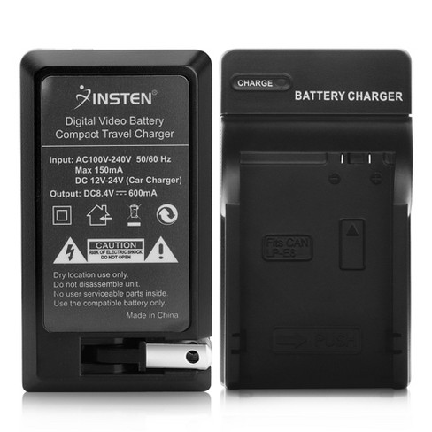 INSTEN Compact Battery Charger Set compatible with Canon LP-E8 - image 1 of 4