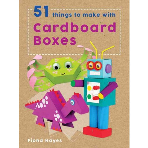51 Things To Make With Cardboard Boxes Super Crafts By Fiona