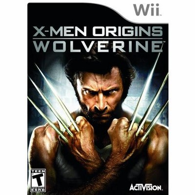 X-Men Origins: Wolverine WII