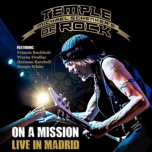 Michael schenker - On a mission:Live in madrid (CD) - image 1 of 1