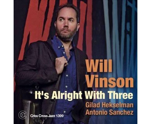 Will Vinson - It's Alright With Three (CD) - image 1 of 1