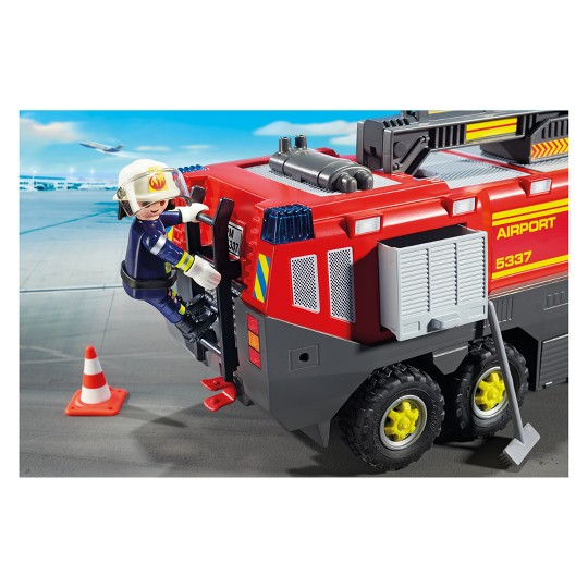 Playmobil Airport Fire Engine image number null