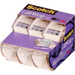 "Scotch® Gift Wrap Tape .75"" x 300"" 3ct"