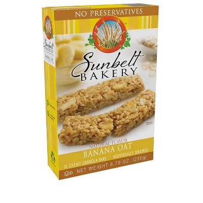 Sunbelt Bakery Banana Harvest Granola Bars - 10ct/8.79oz