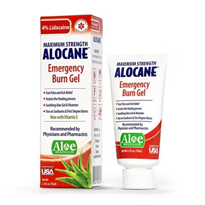 Alocane Maximum Strength Emergency Burn Gel - 2.5oz