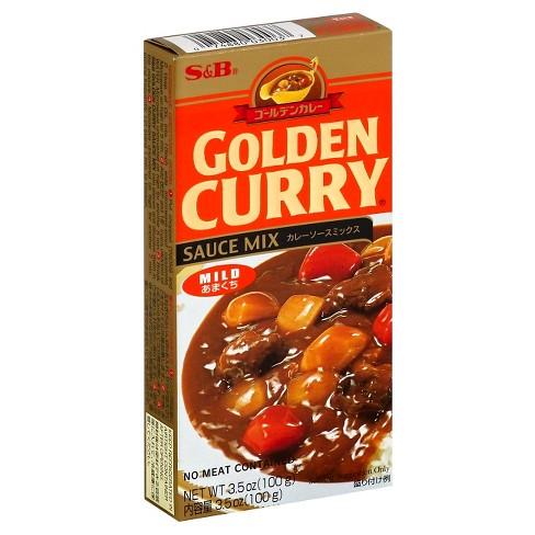 S&B Golden Curry Mild Sauce Mix 3.5oz - image 1 of 1
