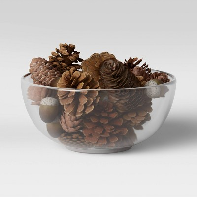 Acorn and Pinecone Vase Filler Brown - Threshold™