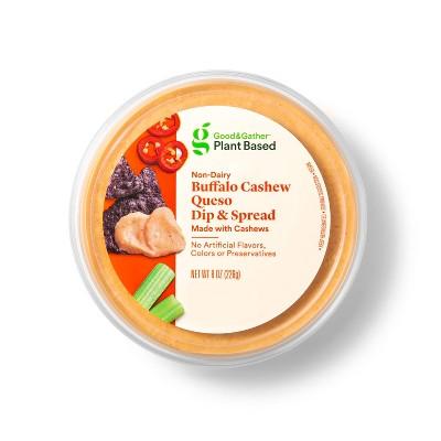 Buffalo Cashew Queso Plant Based Dip + Spread - 8oz - Good & Gather™