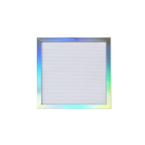 """12"""" x 12"""" Iridescent Letter Board White - New View - image 1 of 3"""