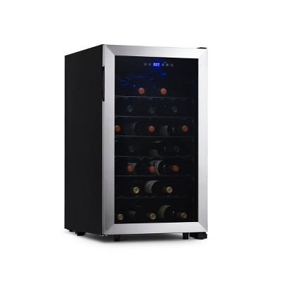 NewAir 50-Bottle Single-Zone Compressor Wine Cooler
