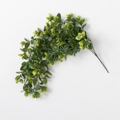 "Sullivans Artificial Hanging Mint Bush 33""H Green"