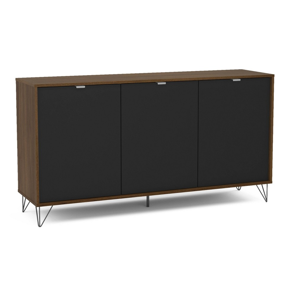 Image of Carmel Sideboard Dark Brown/Black - Chique
