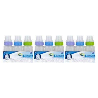 Gerber First Essentials Bottle Set of 9