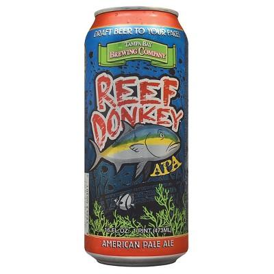 Tampa Bay Reef Donkey APA Beer - 4pk/12 fl oz Cans