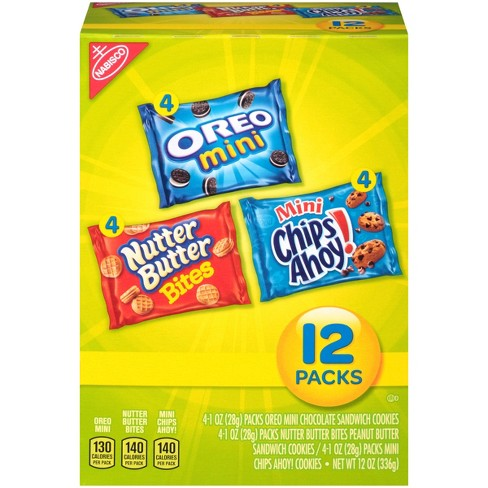 nabisco snack pack variety mini cookies mix with target
