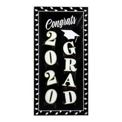 "30""x60"" 2020 Grad Metallic Wall Banner - Spritz™"