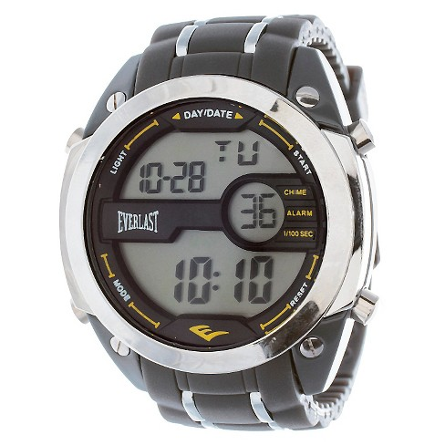 Men's Everlast™ Digital Watch - Gray - image 1 of 2