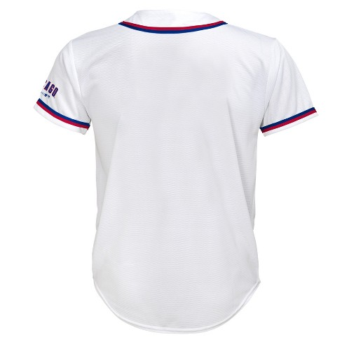 on sale 2d60b 1950a Chicago Cubs Boys' White Team Jersey - XS