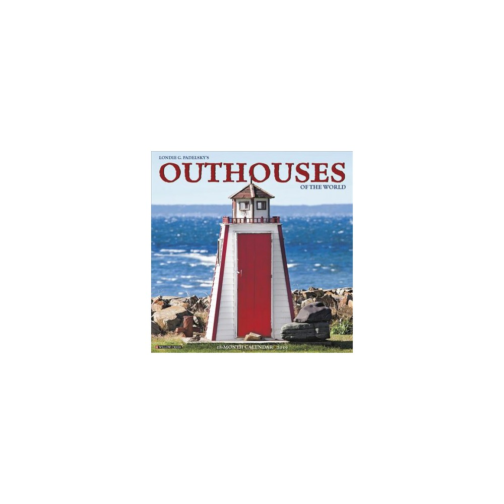 Outhouses 2019 Calendar - (Paperback)