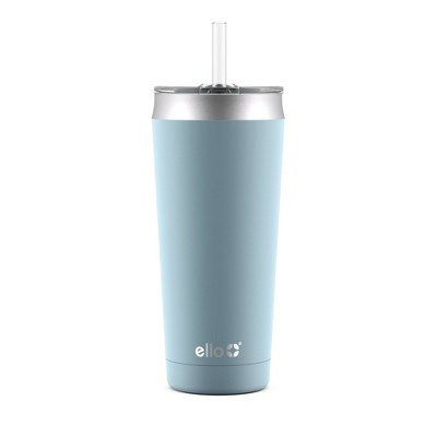 Ello Beacon 24oz Vacuum Stainless Steel Tumbler - Light Blue