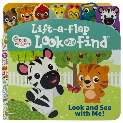 Baby Einstein Lift a Flap : Look and See With Me! - by Edited (Hardcover)