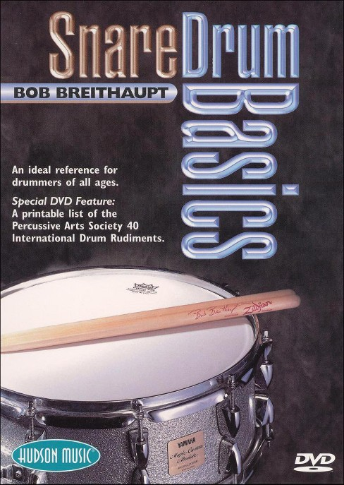 Snare drum basics (DVD) - image 1 of 1