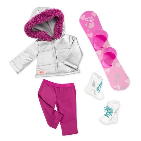 Our Generation Regular Snowboard Outfit - Chill on the Hill - image 1 of 3