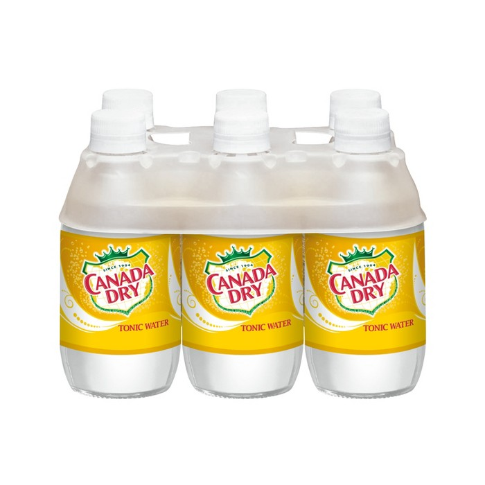 Canada Dry Tonic Water - 6pk/10 fl oz Glass Bottles - image 1 of 3