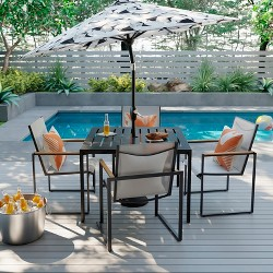 Henning 5pc Patio Dining Set White - Project 62™