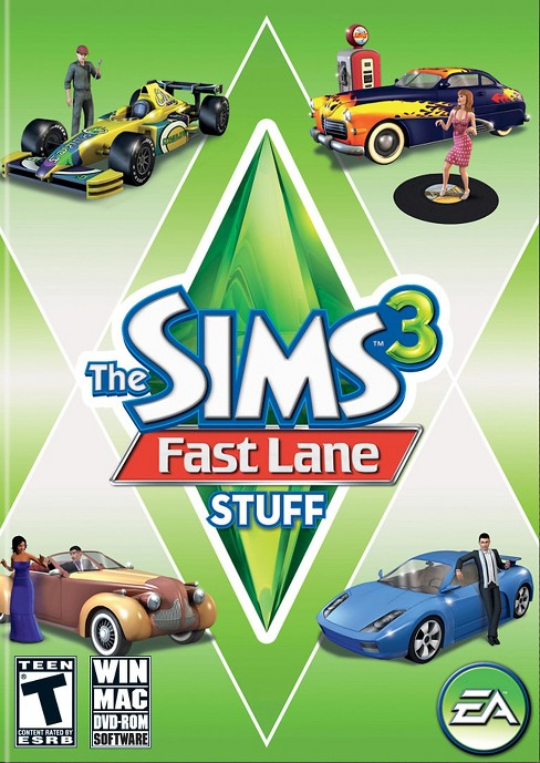 The Sims 3: Fast Lane Stuff - PC Game Digital - image 1 of 1